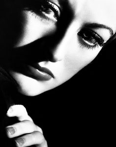 """There was a saying around MGM: 'Norma Shearer got the productions, Greta Garbo supplied the art, and Joan Crawford made the money to pay for both'"".   Joan Crawford by George Hurrell, 1933."