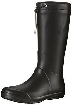 Tretorn Womens Viken Rain Boot Black 37 M EU6 M US * For more information, visit image link.