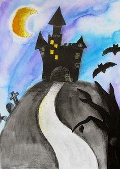 STRAŠIDELNÝ HRAD ČI DŮM, 7. ročník, 11/2015 Bat Signal, Halloween, Superhero Logos, Batman, Fictional Characters, Fantasy Characters, Spooky Halloween