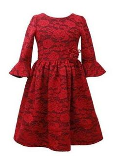 Tween Vintage Holiday Lace Dress Preorder<br>7 to 16 Years
