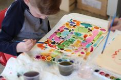 Experience the Inspiration of Process Art – Teach Preschool Process Art Preschool, Preschool Crafts, Teach Preschool, Preschool Ideas, Spring Arts And Crafts, Keep My Fingers Crossed, First Grade Art, Messy Art, School Routines