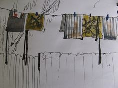 Finding inspiration for textile art by Cas Holmes --Australian Narratives