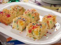 Confetti Upside Down Cake - Holidays