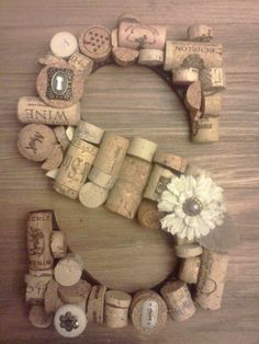 Monogram Cork Letter by TrzyStar on Etsy, $21.50