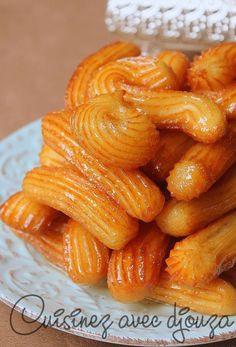 Tulumba tatlisi - Beignets turcs au sirop de miel parfumé à la fleur d'oranger