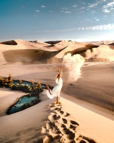 Desert Oasis Huacachina, Peru - Highest Sand Dunes in South America