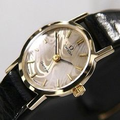 Omega Geneve Ladies Manual Winding Cal 625 Beige Dial Swiss Antique Luxury Watch