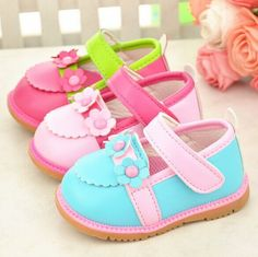 Baby girl shoes with flowers $9 from Aliexpress