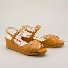 c9c8278a3053a7 Kiki 1940s Wedges by b.a.i.t. (Yellow) 1940s Shoes