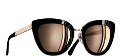 Cat Eye Quilting Sunglasses - Chanel