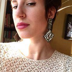 Summerday  Bling, Drop Earrings, Jewelry, Fashion, Moda, Jewel, Jewlery, Jewerly, Fashion Styles