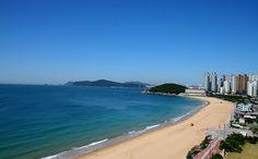 Hye-un-dae (beach), Busan, Korea