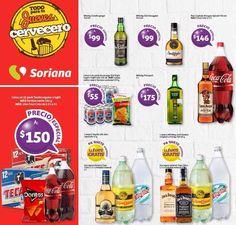 Disfruta las promociones de bebidas alcohólicas y cervezas en este Jueves Cervecero Soriana 12 de enero 2017: 12 pack de cerveza Tecate + Doritos Nachos 26