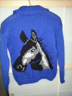 achterkant kindervest paard