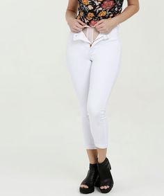 Menor preço em Calça Feminina Jeans Cigarrete Super Lipo Modeladora Sawary