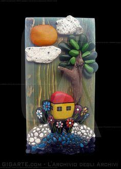 Michela Bufalini - la casetta sul lago / the littl... @Gigarte.com
