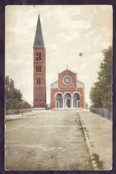 POSTKORT - JESU KIRKEN VALBY - 15. 3. 1915