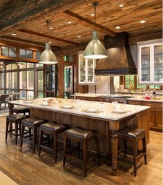 Pictures Of Islands In Kitchens 84 custom luxury kitchen island ideas & designs (pictures) | wood