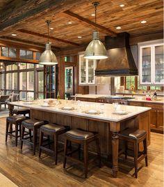 Kitchen. Kitchen Island. Kitchen Island Seating Layout. Kitchen Island Seating. Kitchen Island Layout. #KitchenIsland #KitchenIslandLayout #KitchenIslandSeatingLayout  John Kraemer & Sons. TEA2 Architects