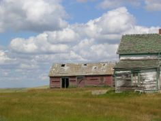 abandoned  farmstead SW Saskatchewan Abandoned, Past, Cabin, House Styles, Travel, Home Decor, Left Out, Past Tense, Viajes