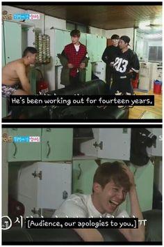 Oķay . . . . .  This scene was hilarious.. #seho #dongwook #jackson #kangjoon #ryohei #sbsroommate #roommates2