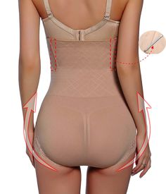 Gotoly Antibacterial Comfort Pants Butt Lifter Shapers Panties HiWaist Thigh Slimming M/L Beige *** Click image for more information. (This is an affiliate link). Slim Waist, High Waist, Female Bodies, Thighs, Bodysuit, Beige, Amazon, Store, Clothing