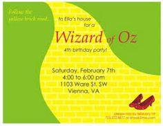 Yvonne Byatt's Family Fun: WIZARD OF OZ PARTY