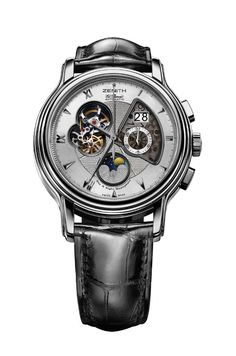 Zenith ChronoMaster Open Grande Date Moon & Sunphase  #Watch
