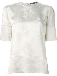 Shop Alexander McQueen embroidered floral top in Biffi from the world's best independent boutiques at farfetch.com. Over 1500 brands from 300 boutiques in one website.