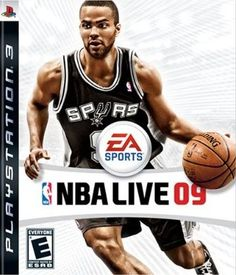 NBA Live 09 [PlayStation 3] - On the cover - Tony Parker. San Antonio Spurs