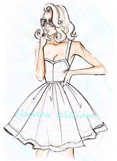 Hayden Williams Fashion Illustrations: March 2010