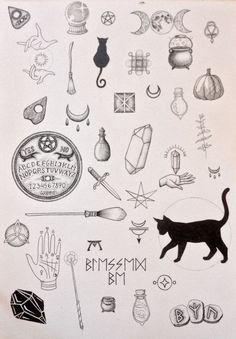 Black cat tattoo design ideas 41 halloween tattoos Black Cat Tattoo Design Ideas - We Otomotive Info Kritzelei Tattoo, Tattoo Drawings, Body Art Tattoos, New Tattoos, Small Tattoos, Cool Tattoos, Awesome Tattoos, Flash Tattoos, Tatoos