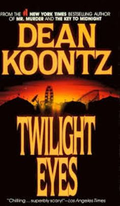Twilight Eyes by Dean Koontz - View book on Bookshelves at Online Book Club - Bookshelves is an awesome, free web app that lets you easily save and share lists of books and see what books are trending. Dean Koontz, Online Book Club, Books Online, Underground Clothing, New York, Book Challenge, What Book, Mystery Books, Used Books