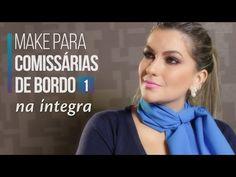 Na íntegra: Maquiagem para Comissárias de Bordo 1 por Alice Salazar - YouTube