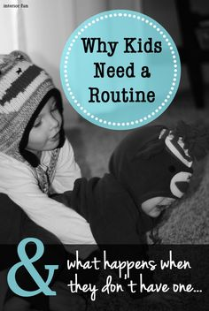 Parenting: Why Kids Need A Routine