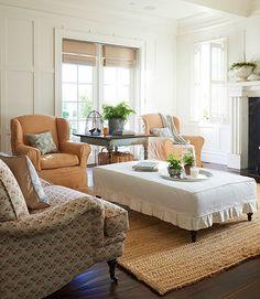 shabby chic wohnzimmer ideen vintage couchtisch alte koffer ...