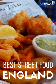 A comprehensive guide to the best street food in England. What to eat and where to find it + best a list of the best annual food festivals in England. Best of food travel in Europe.| Blog by HipTraveler: Bookable Travel Stories