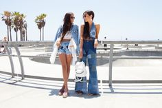 Soakin' up the California sun with @howtwolive in Venice Beach ☀ || Check out their LA escapades: http://www.nastygal.com/nasty-galaxy-how-two-live?utm_source=pinterest&utm_medium=smm&utm_term=california_dreamin&utm_campaign=editorial