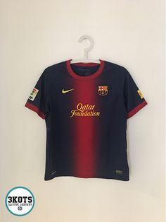 e91c7b1772c BARCELONA FC 2012 13 Home Football Shirt (Youth XL) Soccer Jersey NIKE  Vintage  NIKE  Jerseys  Footballshirts  Soccerjerseys  BarcelonaFC   FCbarcelona