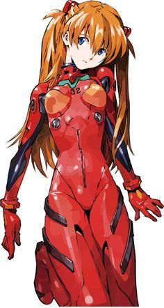 惣流・アスカ・ラングレー/新世紀エヴァンゲリオン | Evangelion - Asuka I have no aidea why, but I loved her design from the beginning.