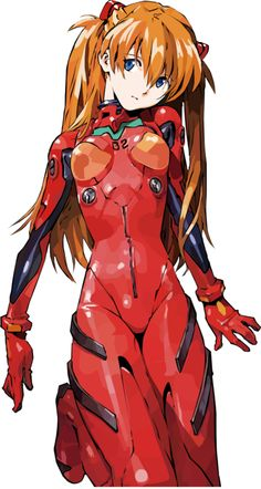 惣流・アスカ・ラングレー/新世紀エヴァンゲリオン | Evangelion - Asuka I have no aidea why, but I loved her design from the beginning.