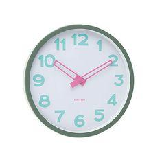 love the Karlsson clock with a pastel splash