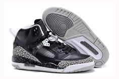 the latest 9db8d 2ebe4 Buy Germany Nike Air Jordan Spizike Mens Shoes Oreo Black Geay Hot from  Reliable Germany Nike Air Jordan Spizike Mens Shoes Oreo Black Geay Hot  suppliers.