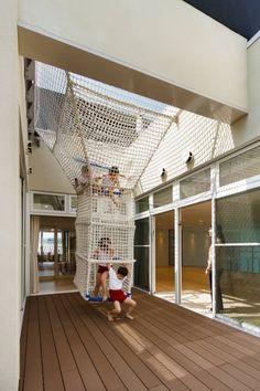 「幼兒之城」在日本全國已擁有 350 家幼稚園或托兒所的設計實績,每棟建築物都具有獨創性,而且都配合該地區的風土或環境外觀而設計。42-c6