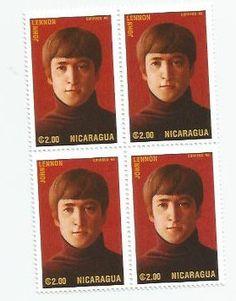 John Lennon From The Beatles Postage by LarkroseInspirations, $2.50
