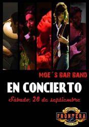 Moes Bar Band en concierto http://www.agendalacant.es/index.php/moes-bar-band-en-concierto