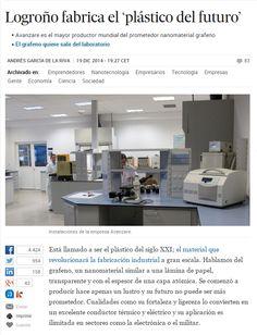 Logroño fabrica el 'plástico del futuro' / @el_pais | #sci #tech #inn
