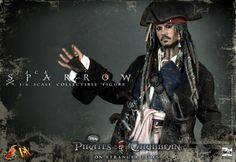 Hot Toys DX06 Jack Sparrow 1/6