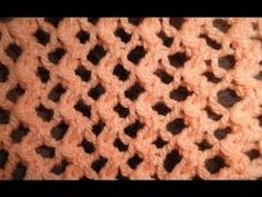 Knit Pattern * EASY LACE PATTERN FOR BEGINNERS * - YouTube
