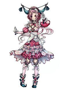 122. 마임맨 _ Mr.Mime _ パリヤ─ド Pokémon Gijinka's - Imgur